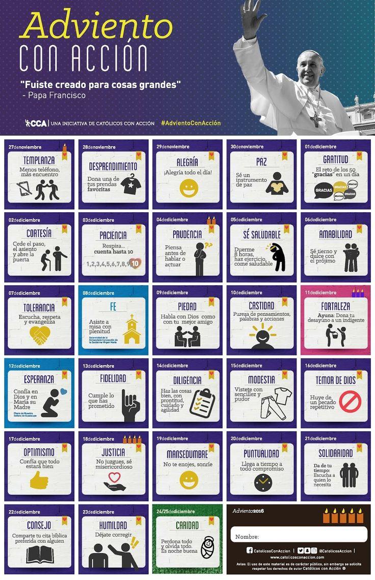 Calendario de Adviento ~ Delegación de Infancia y Juventud
