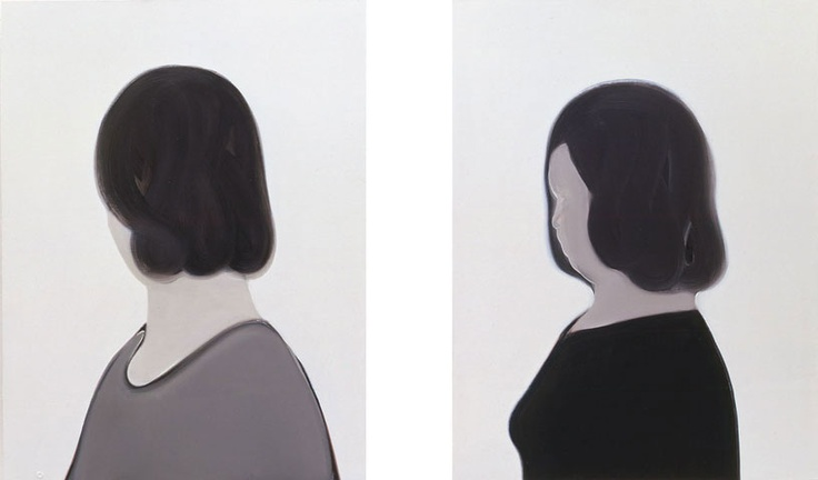 Mari Sunna - Back & Forth diptych - The Approach