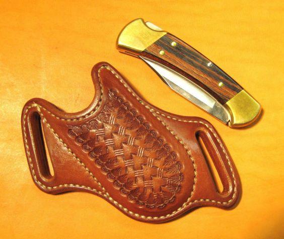 Custom Cross Draw Sheath for the Buck #112 Ranger Folding Hunter Knife