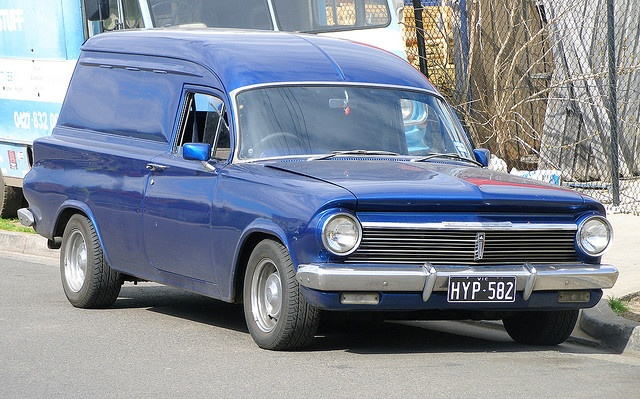 EH Holden panel van by Dr. Keats, via Flickr