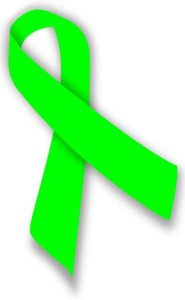 Awareness Ribbon - Lime Green: Non-Hodgkin Lymphoma