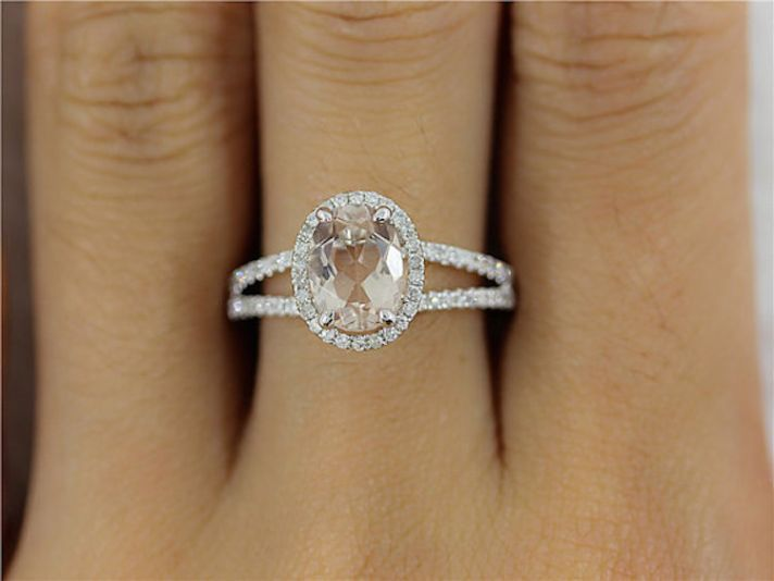 Get a Bachelorette-Inspired Oval Shaped Engagement Ring at Any Budget: While the price of this stunning ring fluctuates slightly by size, all are under $469 and comes with a choice of 14k white, yellow, or rose gold!