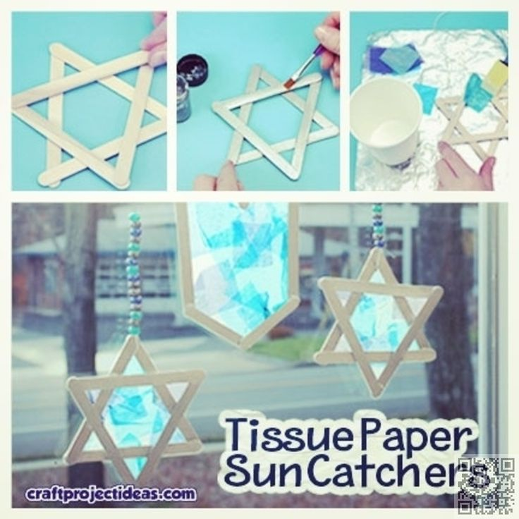 31 #Crafts and DIY Decorations for #Hanukkah ... → DIY #Easiest