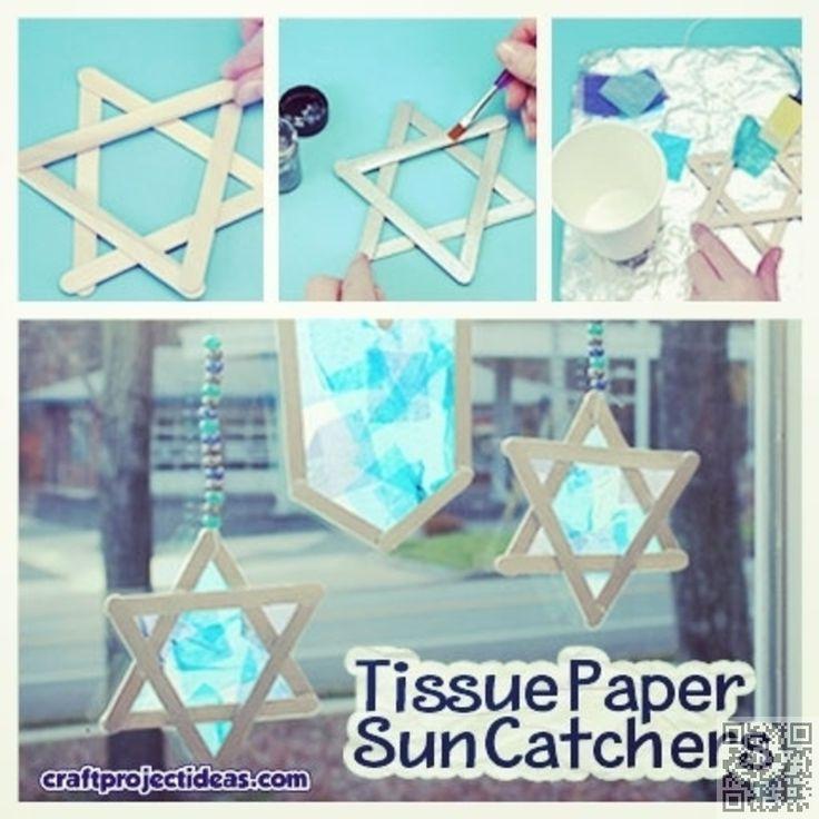 31 #Crafts and DIY Decorations for #Hanukkah ... → DIY #Easiest