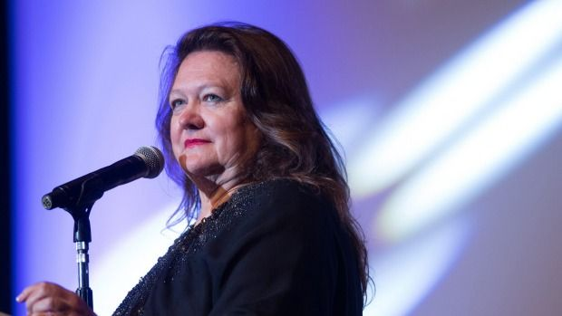 """This woman makes me vomit. """"We should be more like India"""" Gina Rinehart says"""