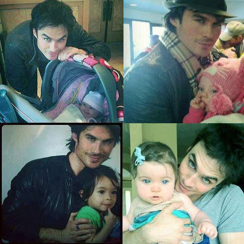 Ian Somerhalder...with kids!!! Is it just me, or does that make him like, 100 times more attractive?