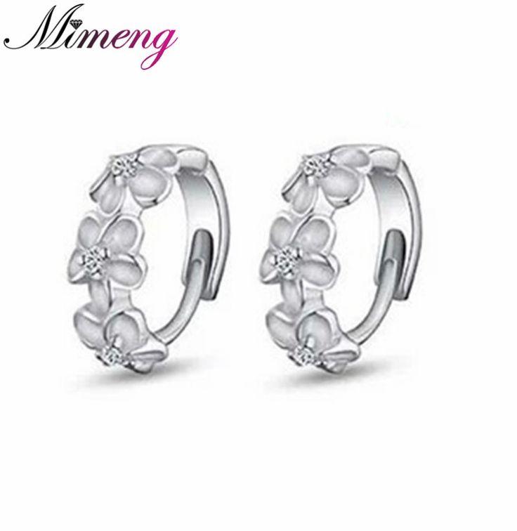 S925 Sterling Silver Earring,3 Flowers Designs with Korea,Latest Model Fashion Earrings Sterling Silver Jewelry Free Shipping www.bernysjewels.com #bernysjewels #jewels #jewelry #nice #bags