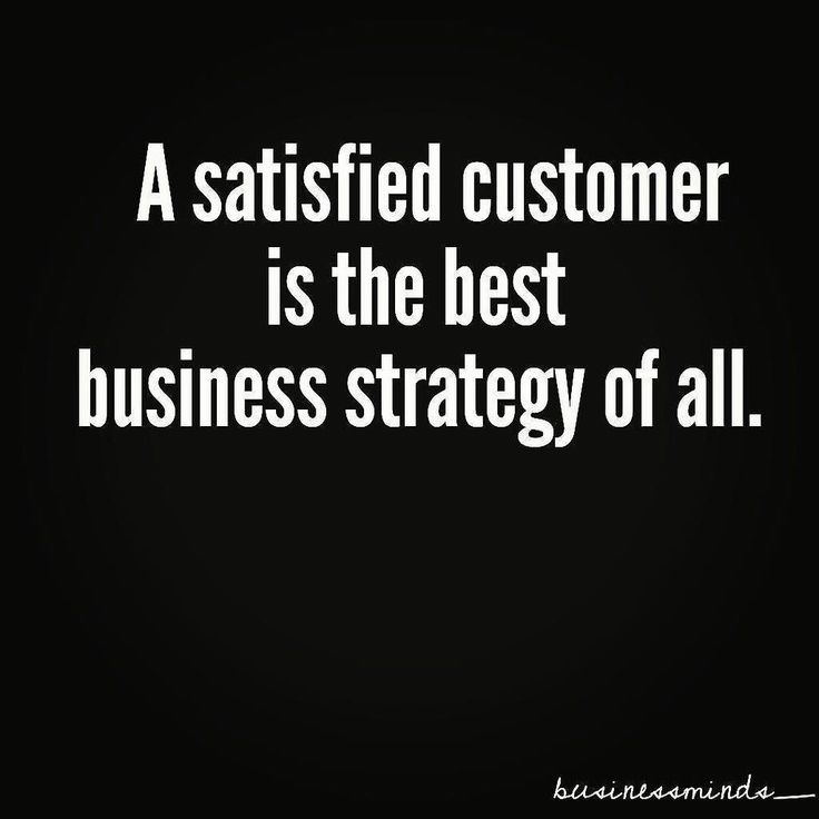 // Re-ppost from @businessminds_  A satisfied customer is the best business strategy of all. #business #businessquote #customers #customersatisfaction #mindset #entrepreneurs #famousquotes #likeforlike #followforfollow #likeforfollow #followforlike // We agree. #Saskatoon #Saskatchewan #Regina #SK #YXE #YXEBusiness #Small Business #BigBusiness