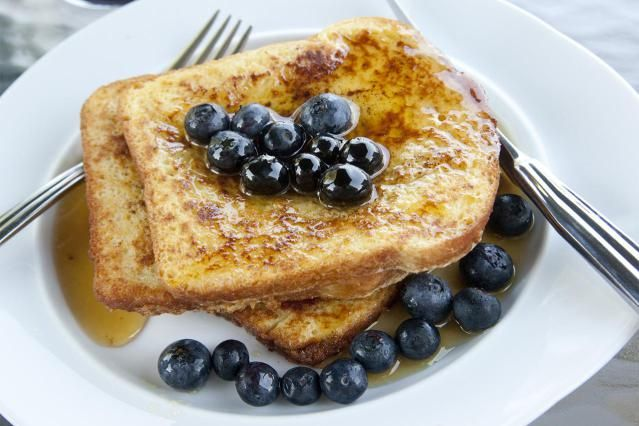 A classic tasting gluten-free French toast recipe made with High Protein Gluten-Free Breakfast Bread.