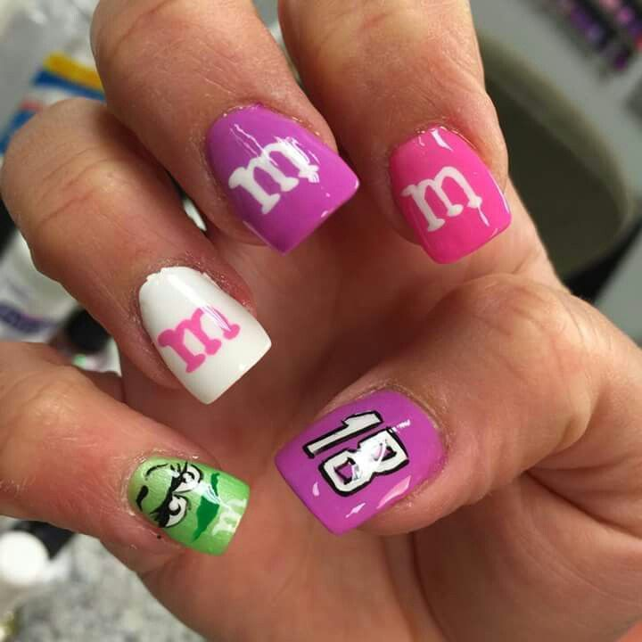 14 best NAILS images on Pinterest | Pretty nails, 49ers nails and ...