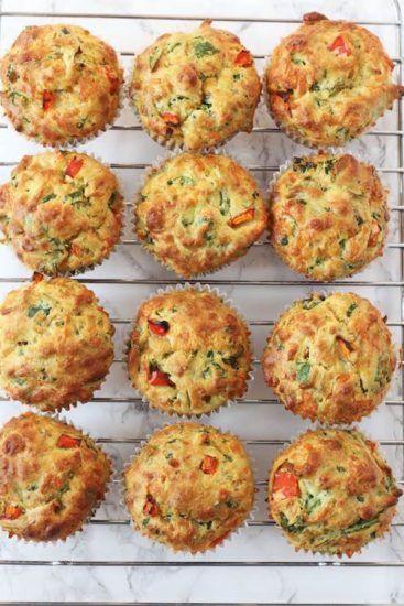 Muffins salados