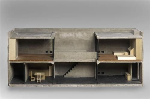 azuma house, tadao ando, 1976 (via Réunion des musées nationaux)
