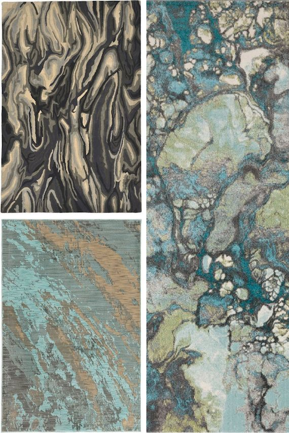 Marble Mania: Marble Rugs | Trend Center by Rugs Direct