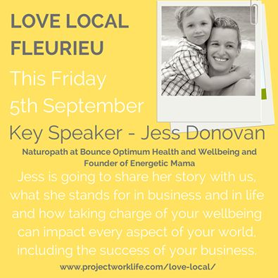 Come along to the first ever love local event on Friday 5th September 2014. I will be sharing my story.http://www.projectworklife.com/love-local/