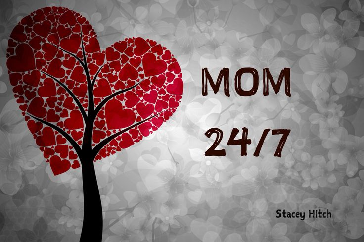 Motherhood does not come with a retirement package. Happy Mothers Day!