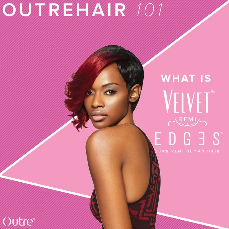 Here at Outre, we are obsessed with creating beautiful and innovative products for all of your hair needs and one in particular is the Velvet Remi Edges.