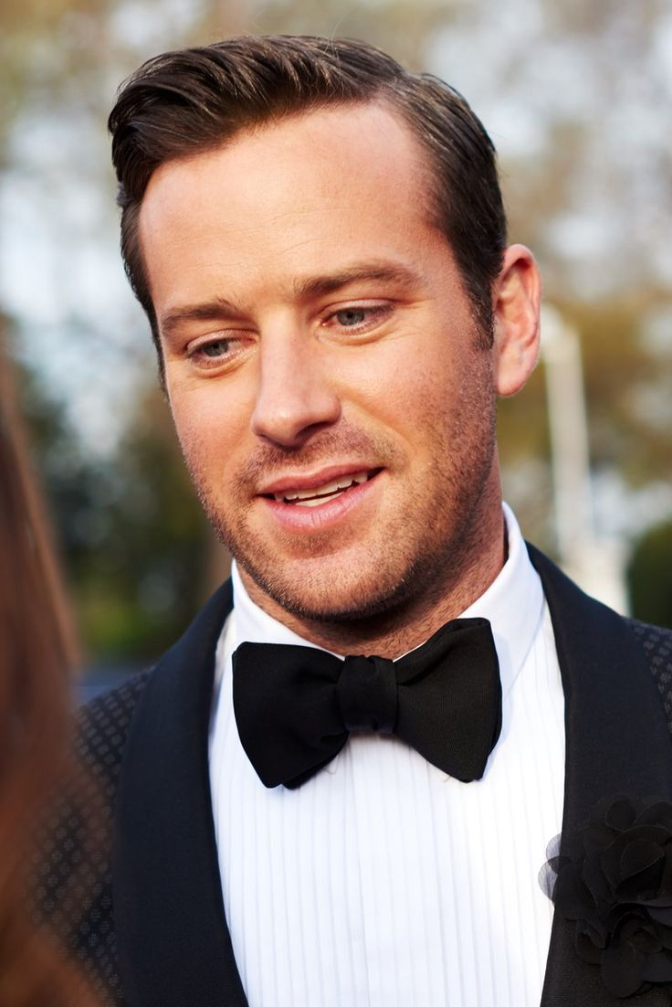 ARMIE HAMMER: Armand Douglas Hammer [born August 28, 1986; height 1.96m] is an American actor. He is known for his portrayal of the Winklevoss twins in the biographical drama film The Social Network (2010), the title character in the western action film The Lone Ranger (2013), Illya Kuryakin in the action film The Man from U.N.C.L.E. (2015), Mike in the thriller film Mine (2016), the voice role of Jackson Storm in the animated film Cars 3, and Oliver in the romance drama film Call Me by Your…