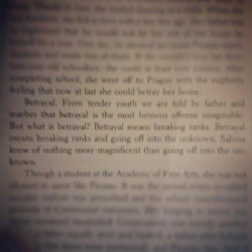 Kundera #books #lit #text