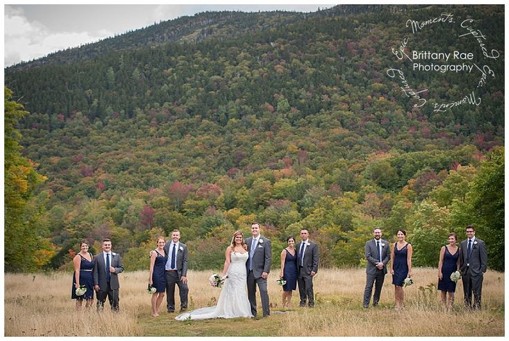 Sunday River Wedding In Bethel Maine Party Mountains