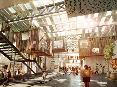 7.-The-Roskilde-Festival-Folkschool_render_interior