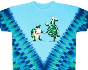 Grateful Dead - Dancing Terrapins Tie Dye T-Shirt   A little tie dye, and some dancing turtles, and you have this new Grateful Dead tie dye t-shirt. Officially licensed Grateful Dead merchandise.  #sunshinedaydream #hippieshop