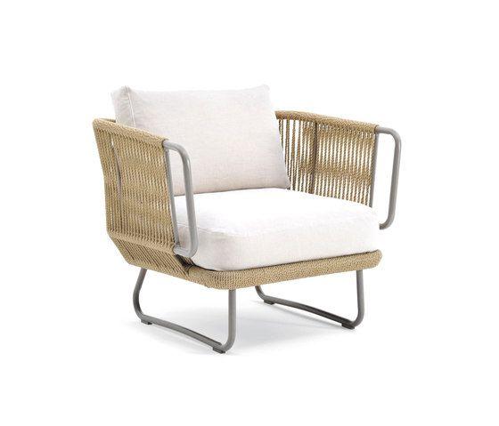babylon lounge chair by varaschin garden armchairs