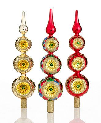 Top 83 best Christmas finials and glass tree toppers images on  EH76