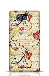 Hand Drawn Watercolor Pattern Samsung Galaxy Alpha G850 Phone Case