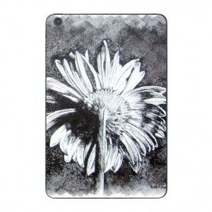 Gerbera by suzannenichols  This strong image of a gerbera is based on a drawing on canvas in pen and ink by artist Suzie Nichols.