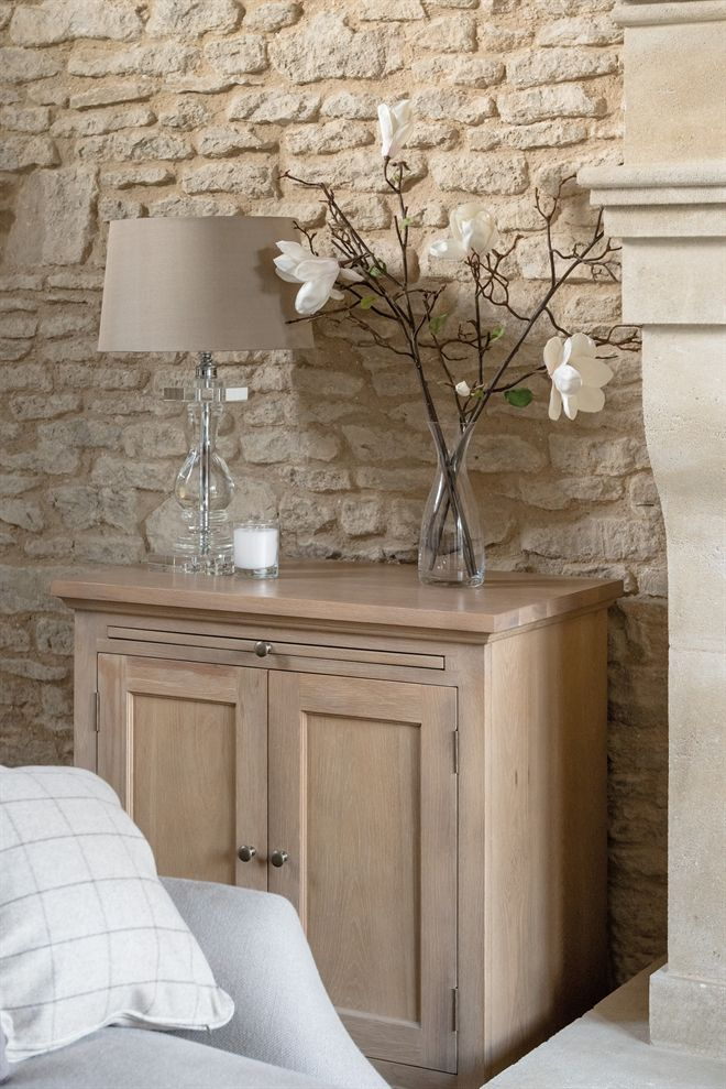 Neptune Accessories Lamps - Burlington Crystal Vase Lamp With Edward Shades