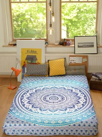8 best wall hangings bed throws hand dyed textile
