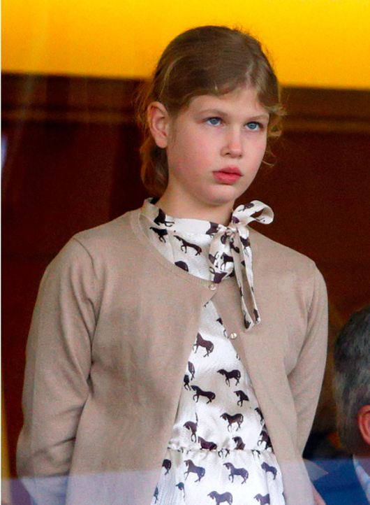 Ascot Racecourse 2014 Christmas Racing Weekend: The Earl and Countess of Wessex attended the Christmas Meeting. Lady Louise Windsor