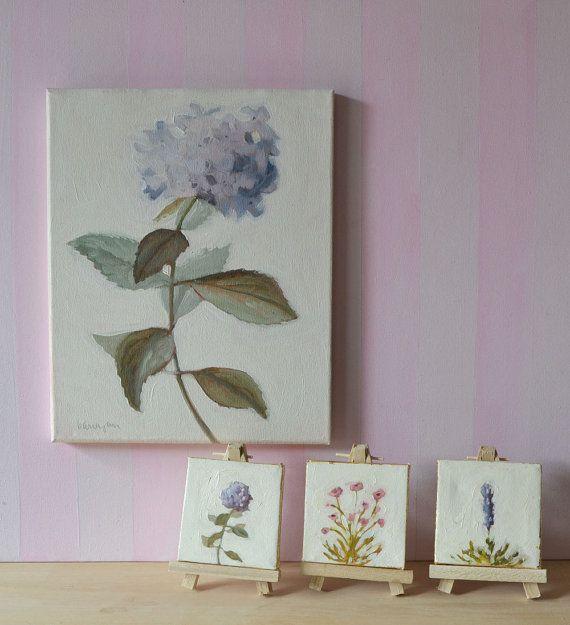 Lovely Mini Leinwand Malerei Kinderzimmer Kunst von BarraganPaintings