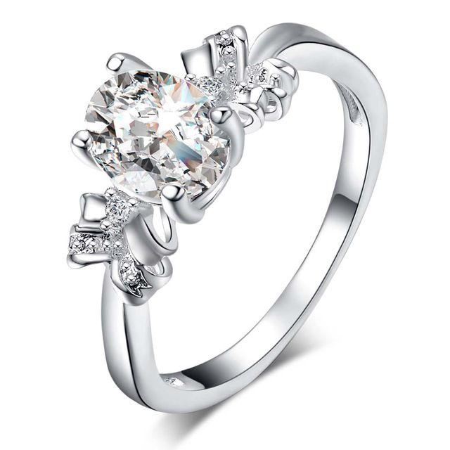 Мода блестящий циркон Овальные Серебряные позолоченные Кольца Мода Ювелирные Кольца Женщины и Мужчины,/MZGCGPYY HXBNPWLG