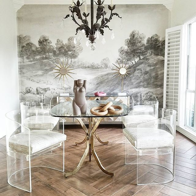 172 best white walls images on pinterest home for Anthropologie arcadia mural