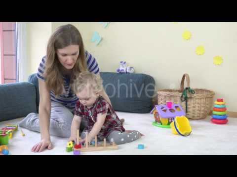 Baby toy learning video learn colors with wooden toys for babies toddler...