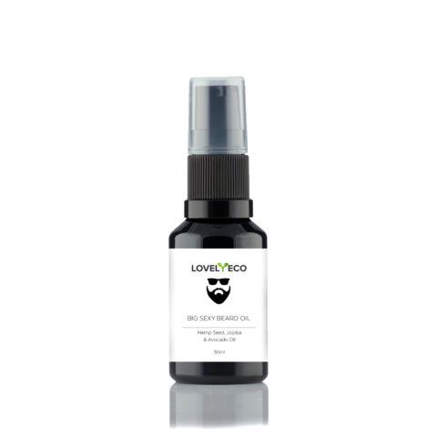 Big Sexy Beard Oil Vegan All Natural 30ml