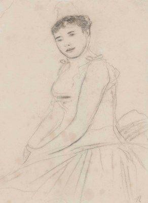 Pierre-Auguste Renoir (1841-1919) La danseuse Rosita Mauri dans La Korigane