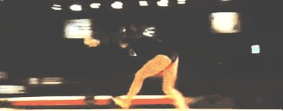Daniele Hypolito's round off back aerial back handspring back pike beam mount