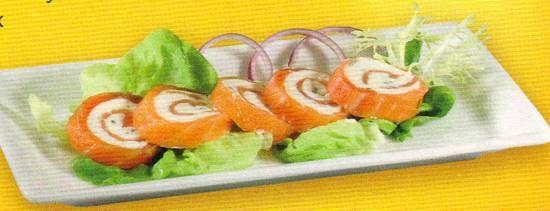 Gerookte Zalm Rouleau recept   Smulweb.nl   Tapas   Pinterest