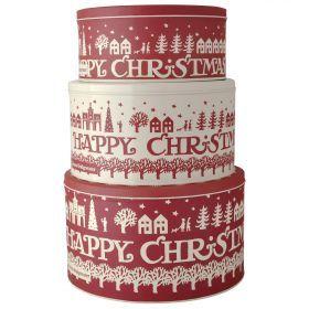 Christmas Town Storage Tins from Emma Bridgewater