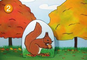Projektplan: Eichhörnchen-Lapbook