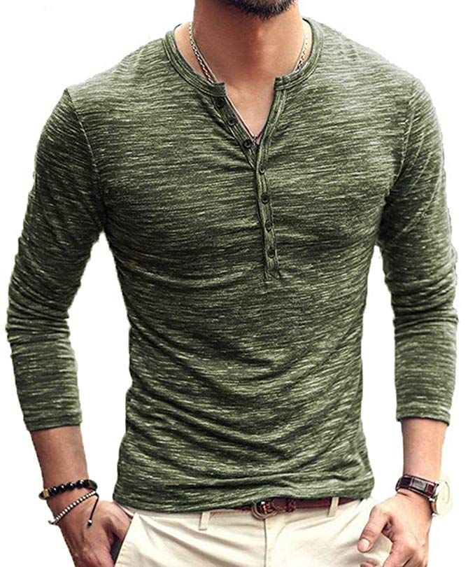Slim Fit Tees Men Brand Soft Pure Cottons Autumn Winters New Long Sleeves Shirts