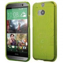 Forro HTC One M8 Cruzerlite Bugdroid Circuit Verde $ 37.800,00