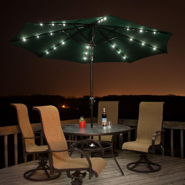 1000 Ideas About Patio Umbrella Lights On Pinterest