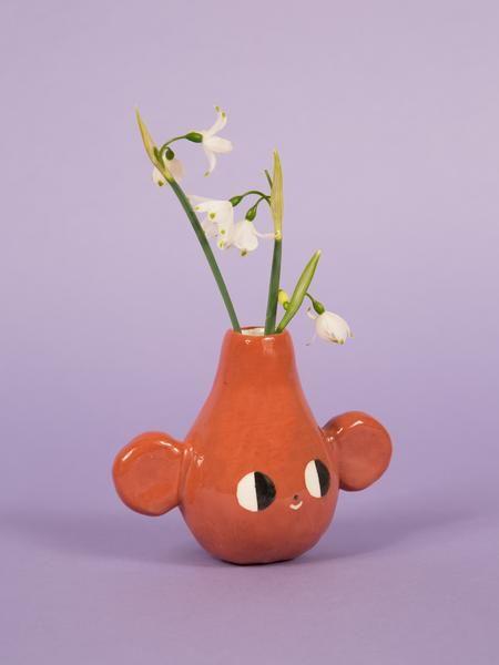 Cutie Cute! Monkey Pottery – Charlotte Mei