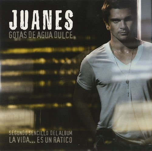 Juanes Gotas De Agua Dulce 2007 Mexican CD single 202071: JUANES Gotas De Agua Dulce (2007 Mexican 1-track promotional CD taken from the…