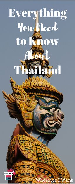 Everything about money, attractions, landscapes, Wi-Fi, etc. in Thailand