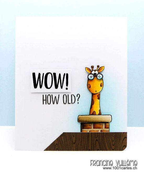 1001 cartes: Gerda Steiner Designs – Wow! How Old?