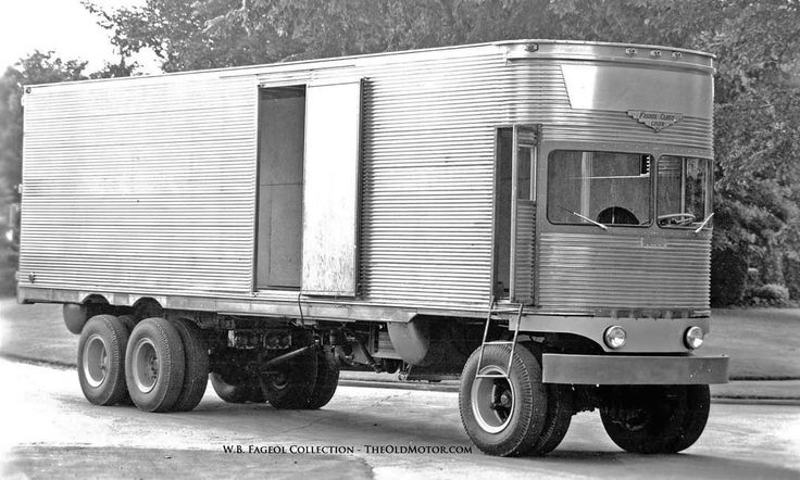 The Fageol 1950 TC CargoLiner – A Trailer Without A Tractor